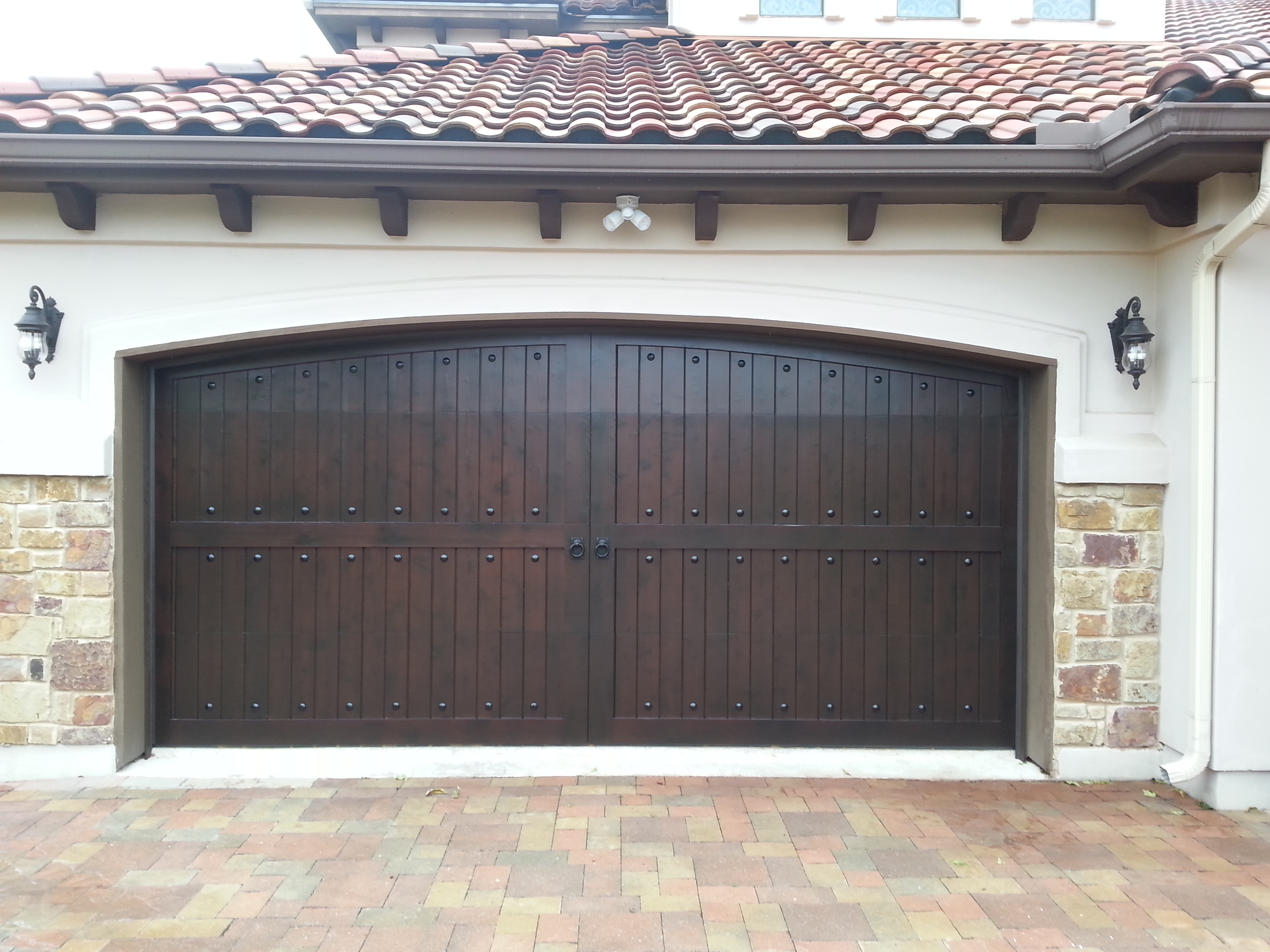 2448 #7D674E Products picture/photo Gallery Garage Doors 35893264